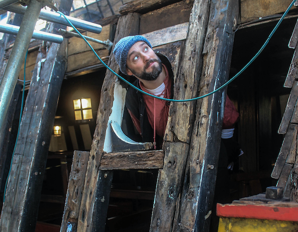 Preserving History at The Golden Hinde